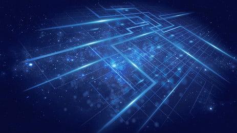 Cảm giác công nghệ tỏa sáng xung quanh nền quảng cáo Nền Quảng Cáo Hình Nền