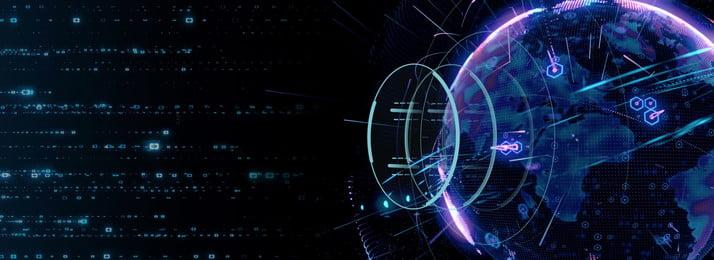 teknologi latar belakang pengiklanan digital akal dunia, Bumi Kreatif, Dunia Perniagaan, Dunia Internet imej latar belakang