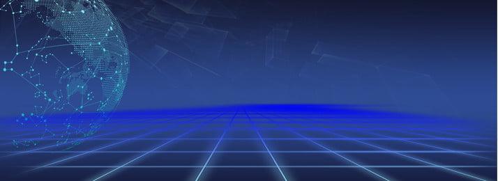 Technology world blue beautiful background, World, Earth, Technology Background image