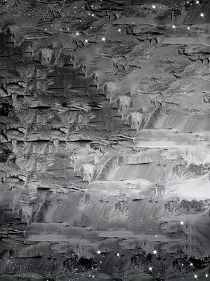 ヴィンテージの厚い油絵風の背景 , 美しい, 単純な, 黒 背景画像