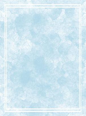 水彩藍色漸變邊框背景 背景 水彩背景 水彩水粉背景圖庫