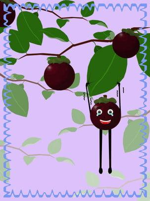 全水果山竹背景 , 水果, 山竹 背景圖片