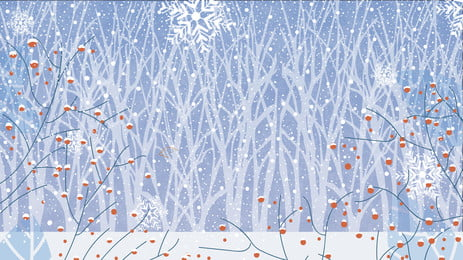 winter forest snow scene christmas background material, Snow Scene, Christmas Background, Fruit Background image