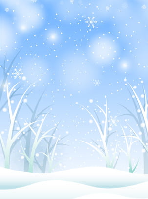 winter romantic warm snow background , Winter Snow Scene, Snowflake, Warm Snow Background Background image