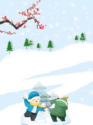 winter snowing snowball background , Winter Background, Winter, Snowy Background Background image