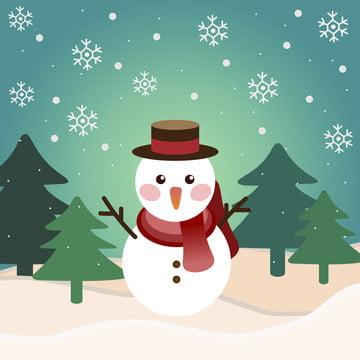 冬の雪だるまメインマップの電車のポスター , 雪だるま, 冬, ポスター 背景画像