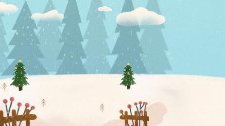शीतकालीन संक्रांति कार्टून प्यारा पृष्ठभूमि, कार्टून, सुंदर, सौर शब्द पृष्ठभूमि छवि
