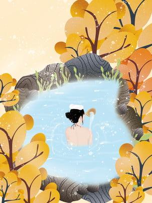 winter solstice girl spa , Nền đông Chí, Mùa đông, Bối Cảnh Chung Ảnh nền