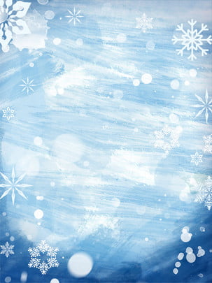 Winter solstice snowflakes blue background Màu Xanh Nền Hình Nền