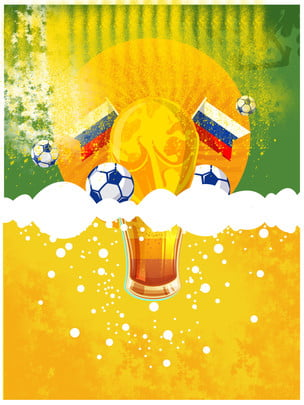 world cup competition sports advertising background , Trophy, Russian World Cup Background, World Football Match Background image