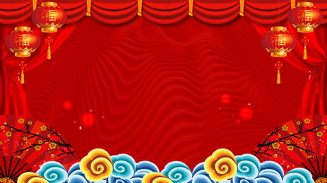 2019 ano do porco lanterna fundo de promoção de ano novo Lanterna Festivo Vermelho Xiangyun Conselho de exposição Novo Estilo Novo Imagem Do Plano De Fundo