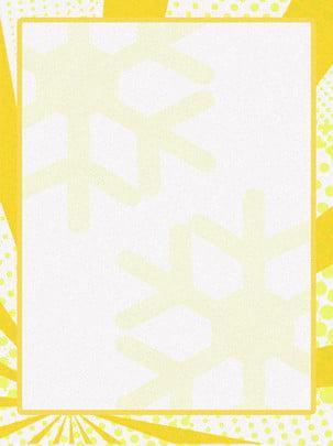 黃色線譜波普背景 , 黃色背景, 邊框背景, 可愛風 背景圖片