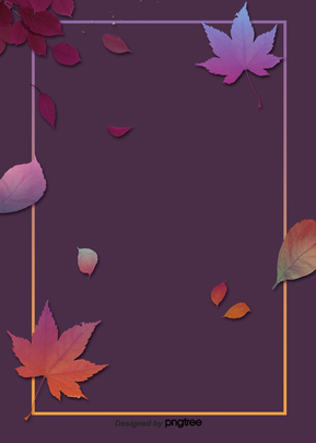 Background of deciduous maple leaf border in autumn , Promotion, Business Affairs, Maple Leaves Background image