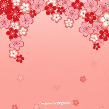 日本櫻花粉色浪漫背景 , 日本, 櫻花, 浪漫 背景圖片
