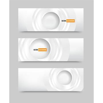 वेक्टर सफेद सार बैनर के साथ कागज से बाहर कटौती और कागज हलकों , 3 डी, सार, कला पृष्ठभूमि छवि