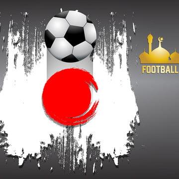 backgrod जापान झंडा फुटबॉल विषय , 3 डी, सार, कार्रवाई पृष्ठभूमि छवि