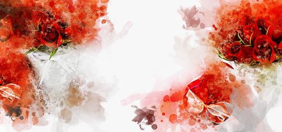 गुलाब पानी के रंग पृष्ठभूमि , पृष्ठभूमि, फूल, गुलाब पृष्ठभूमि छवि