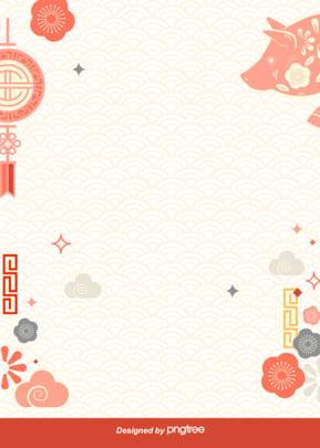 日本式と風豚年の簡単な背景 , 雲の輪, 華美, 風と風 背景画像