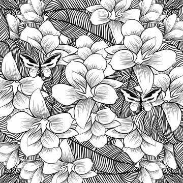 cawangan daun  vektor ilustrasi   vektor kata kata spring dengan bunga , Abstrak, Seni, Latar Belakang imej latar belakang
