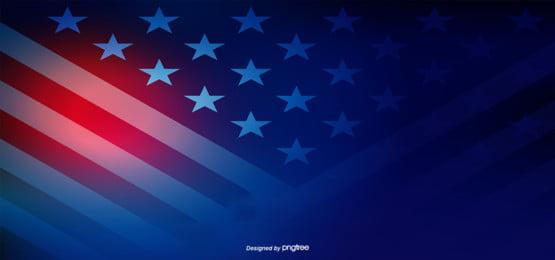 Criação de Fundo Azul Vermelho Da Bandeira DOS Estados Unidos Propaganda Comercial O Imagem Do Plano De Fundo