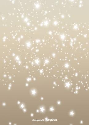 輝く金色の輝く星の背景 , 光が光る, 光の点, 発光する 背景画像