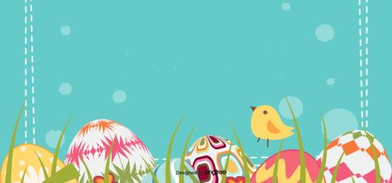 簡素な復活祭で卵を祝う背景 , 販促, 円点, 復活祭 背景画像