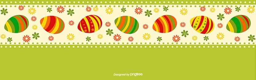 簡單的複活節花邊節日背景 , 復活節, 復活節彩蛋, 植物 背景圖片