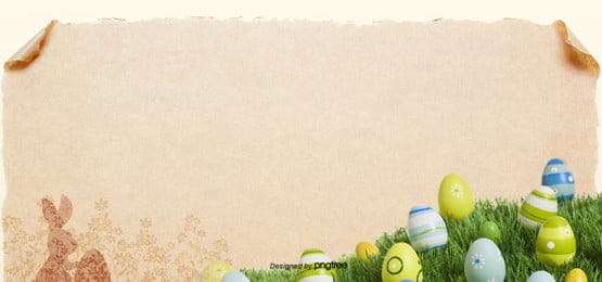 green retro style kraft lawn eggs easter eggs background , Rabbit, Silhouette, Vintage Background image
