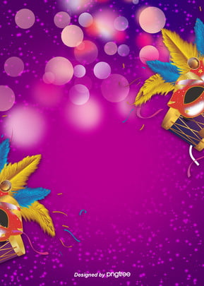 máscaras creativas púrpura halo carnaval de brasil , Mareo, Creativo, Carnaval Imagen de fondo