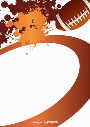 Background Of Geometric Curve Splashing In American Football, Geometric, Nostalgia, Brown, Background image