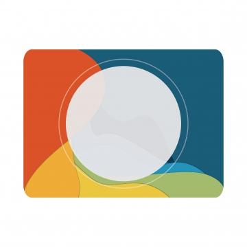 Banner Or Header Background Multi Color Modern Abstract, Border, Frame, Picture, Background image