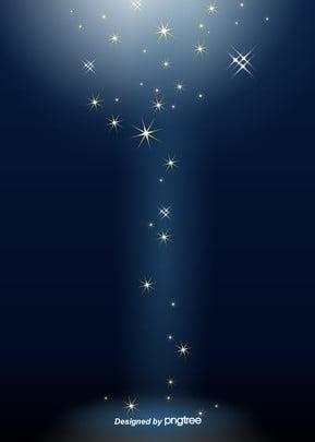 गिरने सितारों की चमक काले रंग की पृष्ठभूमि , चमक, रात को आसमान, सितारों पृष्ठभूमि छवि
