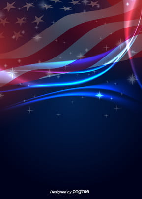 dark flash curve background of american flag , Creative, Flag Background, Vintage Background image
