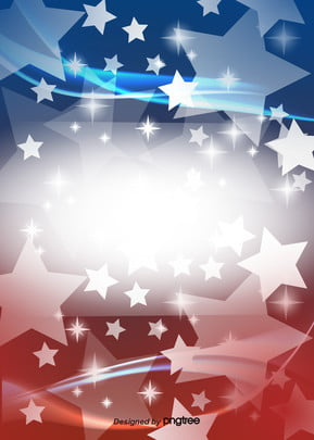 gradual shining star red and blue american flag background , Creative, Flag Background, Vintage Background image