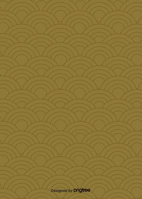 日本式雲の紋様の茶色の壁紙 , 雲の紋, 幾何学, 図案 背景画像