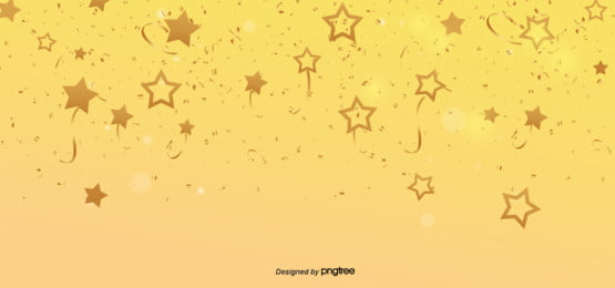 simple golden gradient festival celebrating the background of ribbon stars , Light, Aperture, Luxurious Background image