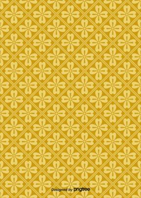 伝統簡単な金色の豪華な日本のひし形の花の模様の壁紙の背景 , 伝統, 幾何学, 壁紙 背景画像