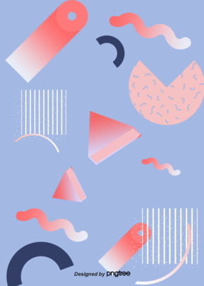 coral orange pink geometric memphis background map Géométrie Creative Memphis Image De Fond