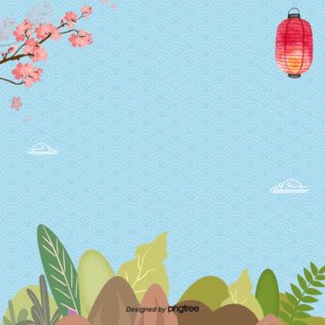 青簡単な日本式旅行春はペラペラ , 葉の葉, 旅行, 日本式 背景画像