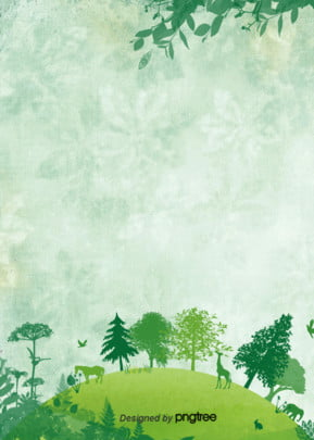 creative illustration of green environment background of earth day , Protect The Earth, Animal, Earth Background image