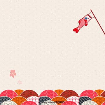 日柄花柄カラーと風の背景 , 風と風, カラー, 日系 背景画像