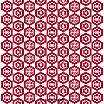 和風柄の幾何学色のアイデア壁紙の背景 , 幾何学, アイデア, 図案 背景画像