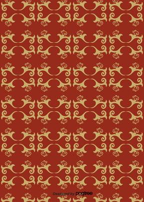 赤の抽象的な柄の日本式図柄の背景 , 幾何学, 図形, 図案 背景画像