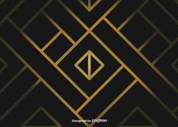 Luxury Black Gold Geometry hot Phnom Penh Line Background Geometría Países Nórdicos Imagen De Fondo
