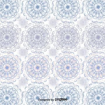 円色の花柄 , 円形, 裏目, 花の花 背景画像