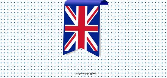 ब्रिटेन ध्वज पृष्ठभूमि डिजाइन , रचनात्मक, झंडा, पोल्का डॉट पृष्ठभूमि छवि