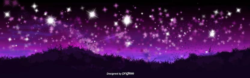 brillante cielo nocturno montañas bosques paisaje natural , Nube, El Espacio, Las Montañas Imagen de fondo