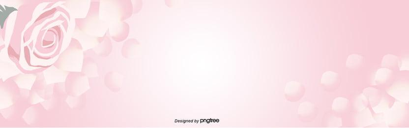 粉紅玫瑰金明亮的背景 , 促銷, 卡通, 插圖 背景圖片