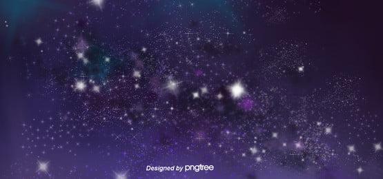 星空の銀河ブルーの空の背景 , 夜の夜, 空, 宇宙 背景画像