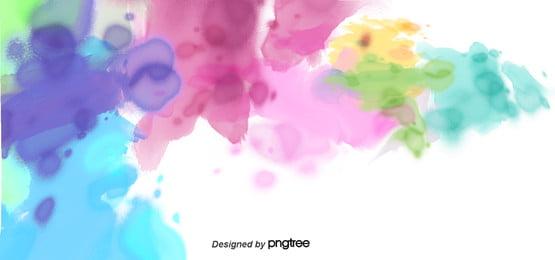 पानी के रंग का रंग का व्यापार पृष्ठभूमि , बच्चों, कार्टून, सुंदर पृष्ठभूमि छवि